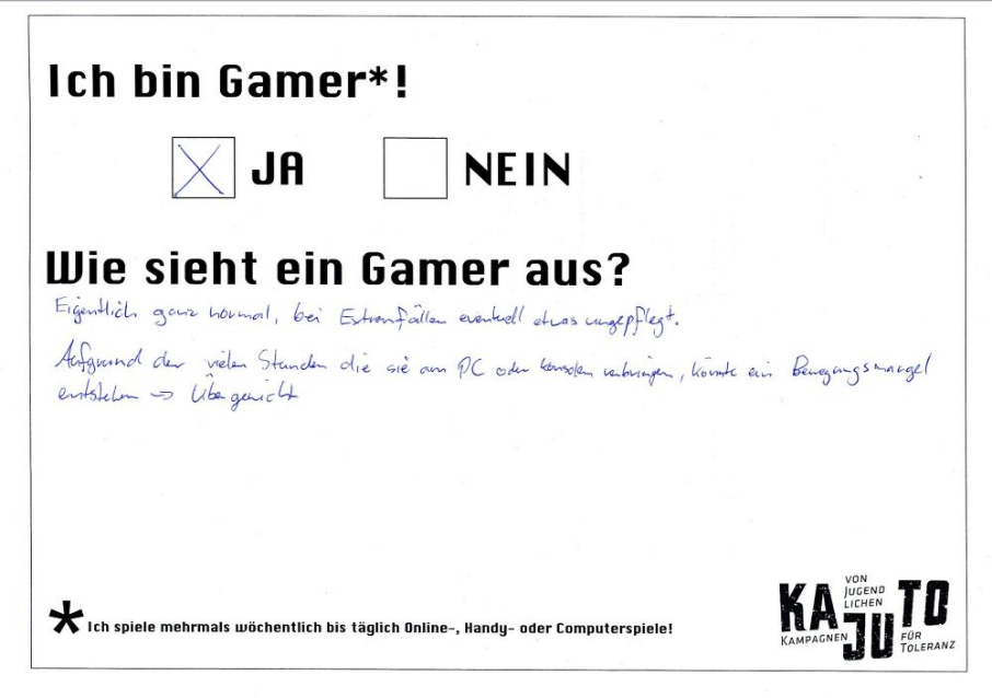 bin ich ein gamer